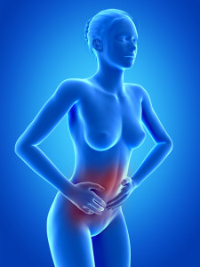 Lower mid abdominal pain