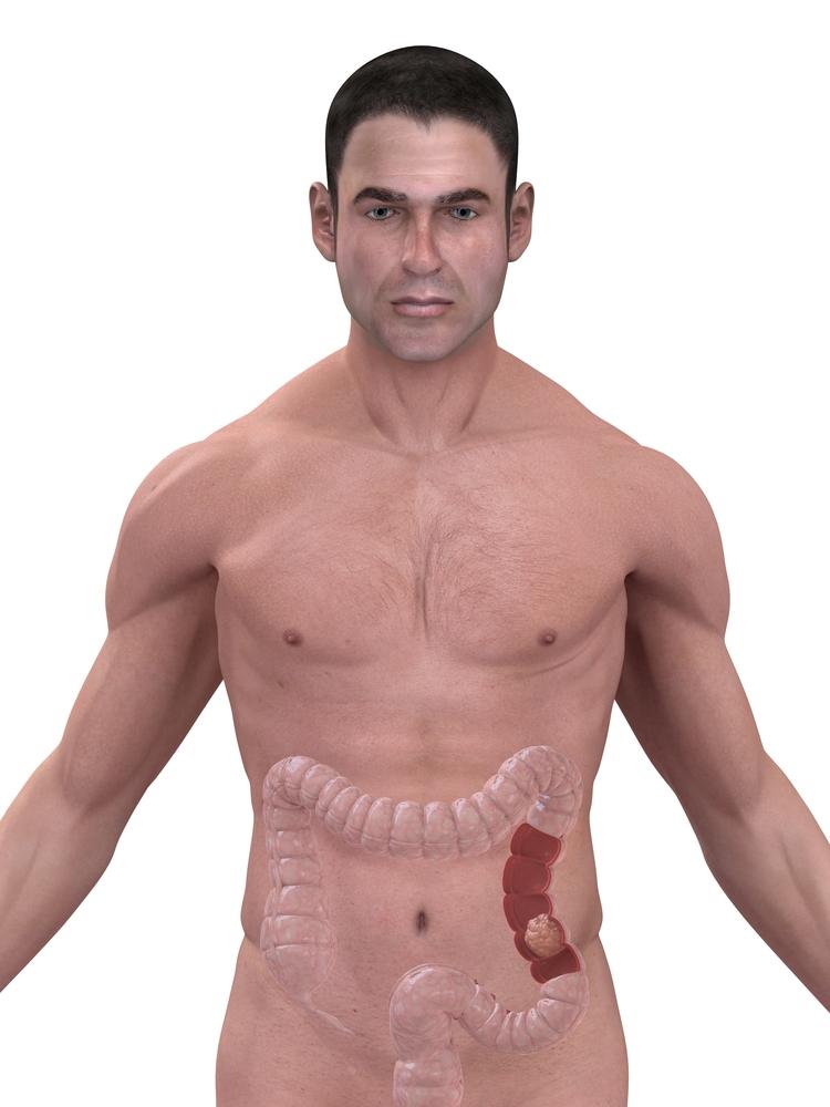 left lower abdomen