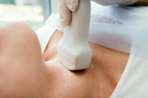 Tests For Thyroid Cancer (Ultrasonic Exam Of Thyroid)