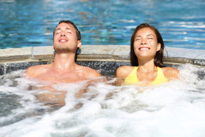 Dermatitis Of Jacuzzi (Hottub Rash Can Develop From The Chronic Use Of Hottubs)