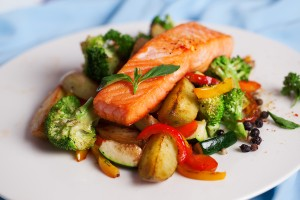 Colorectal Cancer Low In Fish-Eating Vegetarians